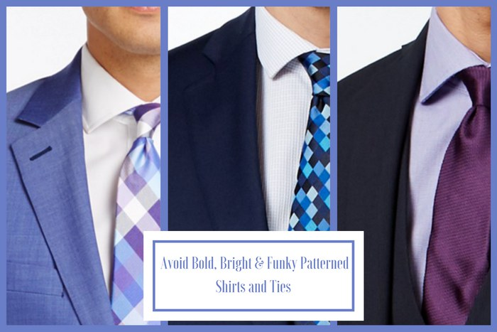 Funeral Attire for Men: Inappropriate Shirt and Tie
