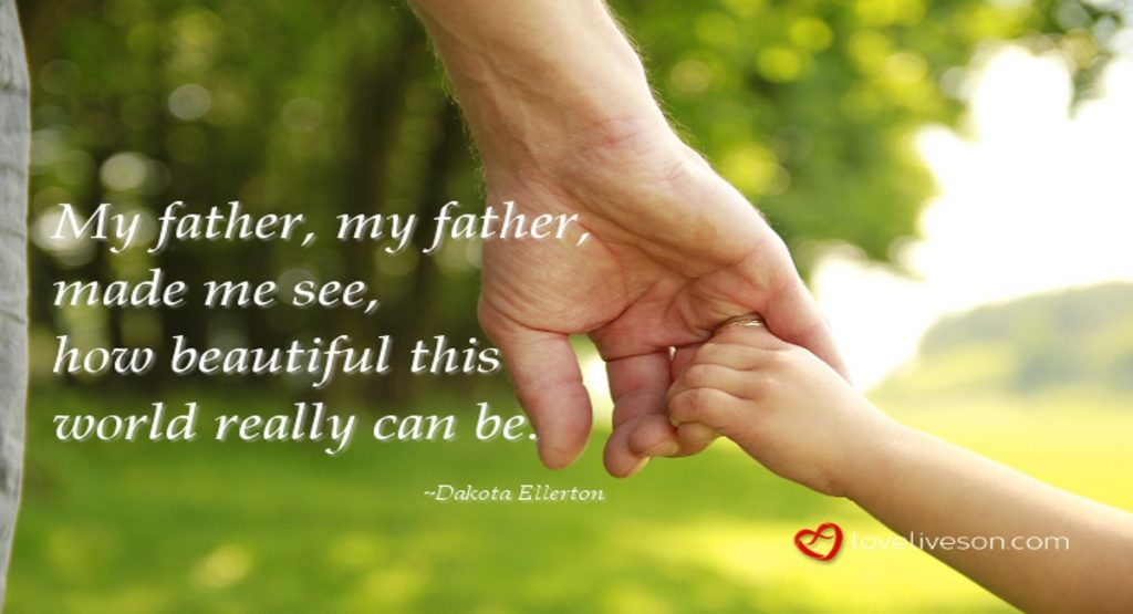 17 Best Funeral Poems For Dad Love Lives On