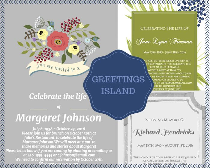 39 Best Funeral Reception Invitations – Funeral Invitation Cards