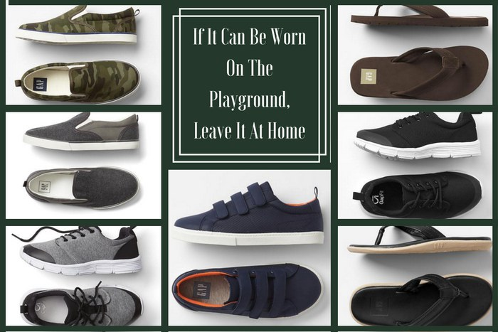 Funeral Attire for Children: Inappropriate Shoes for Boys