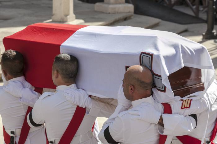 Cover Photo: Thanking Pallbearers