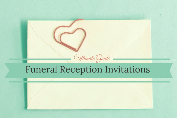Cover Photo: Your Ultimate Guide to Funeral Reception Invitation Wording