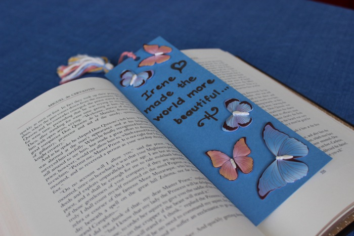 Celebration of Life Idea: Make a Bookmark
