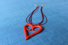 Celebration of Life Idea: Commemorative Heart Necklace