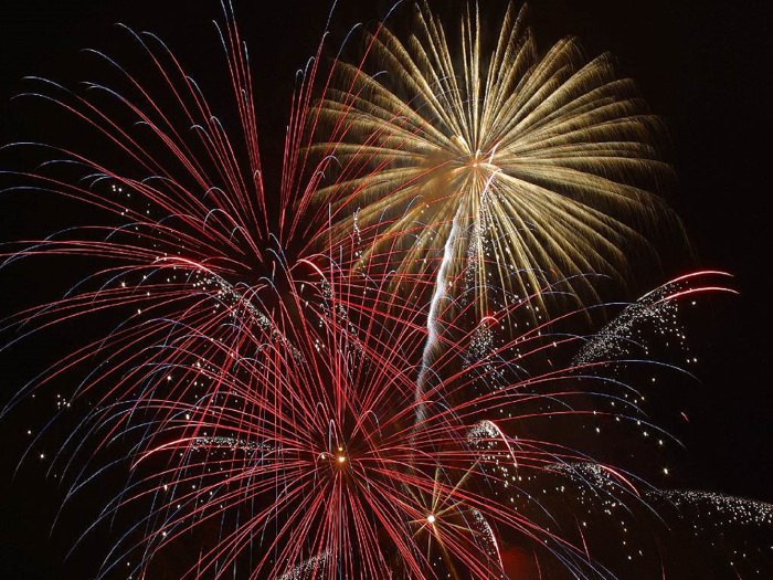 Celebration of Life Idea: Fireworks