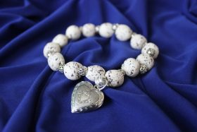 Cover Photo: Funeral Flower Bracelet