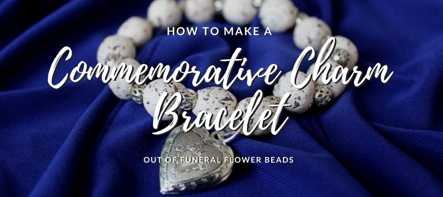 How to Make a Funeral Flower Bead Bracelet