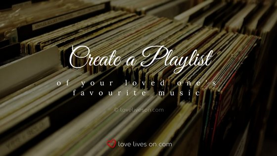 Celebration of Life Ideas: Create a Playlist