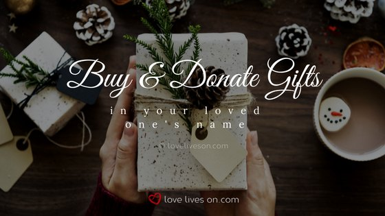 Celebration of Life Ideas: Donate Gifts