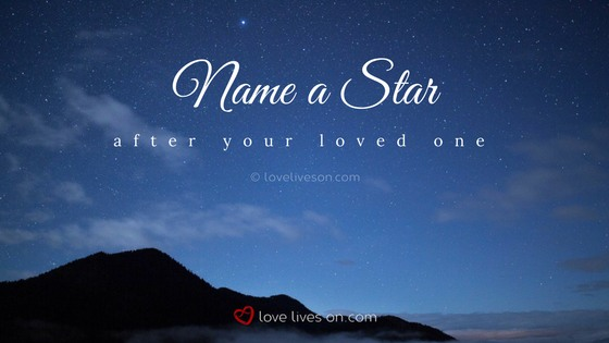 Celebration of Life Ideas: Name a Star