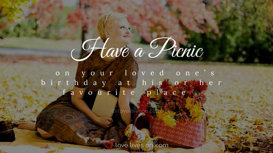Celebration of Life Ideas: Plan a Picnic