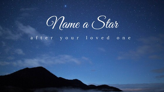 Celebration of Life Idea Name a Star