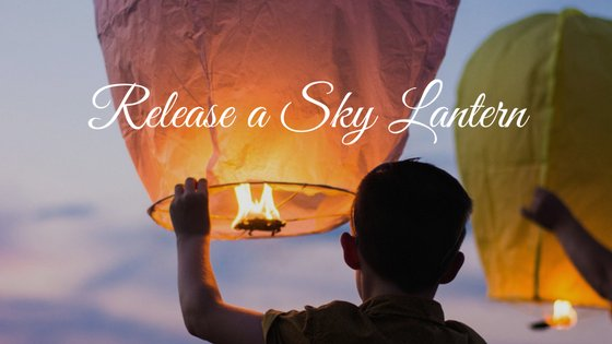 Celebration of Life Idea: Release Sky Lantern