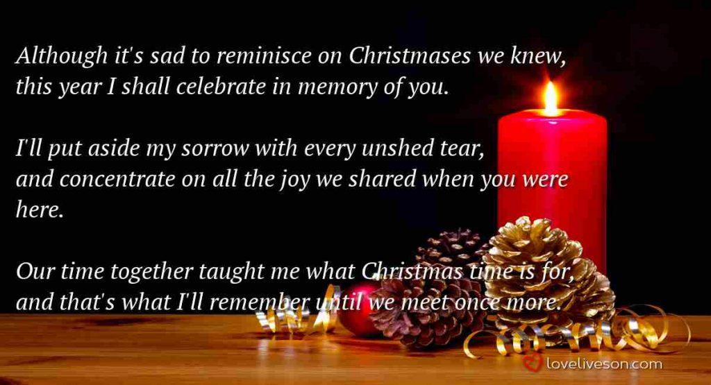 Remembering Loved Ones at Christmas Meme 4