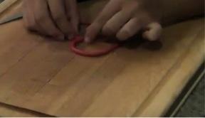 DIY Crafts For Kids Step 4: Heart Pendant
