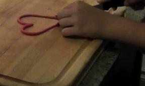 DIY Crafts For Kids Step 5: Heart Pendant