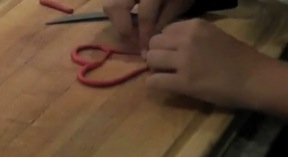 DIY Crafts For Kids Step 7: Heart Pendant
