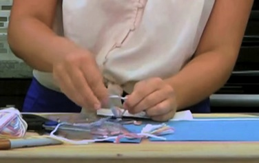 DIY Crafts For Kids Step 8: Bookmark