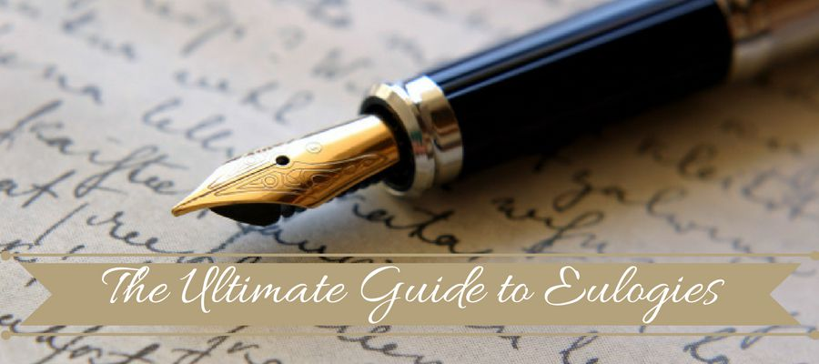 Tips for writing a good eulogy