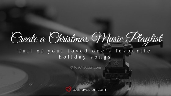 in memory at christmas playlist