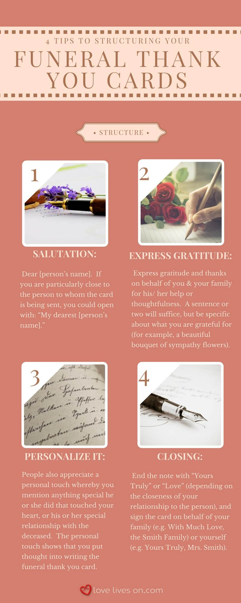 33 best funeral thank you cards love lives on infographic funeral thank you notes dhlflorist Gallery