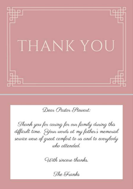 33 best funeral thank you cards love lives on sample thank you note to pastor after funeral spiritdancerdesigns Gallery