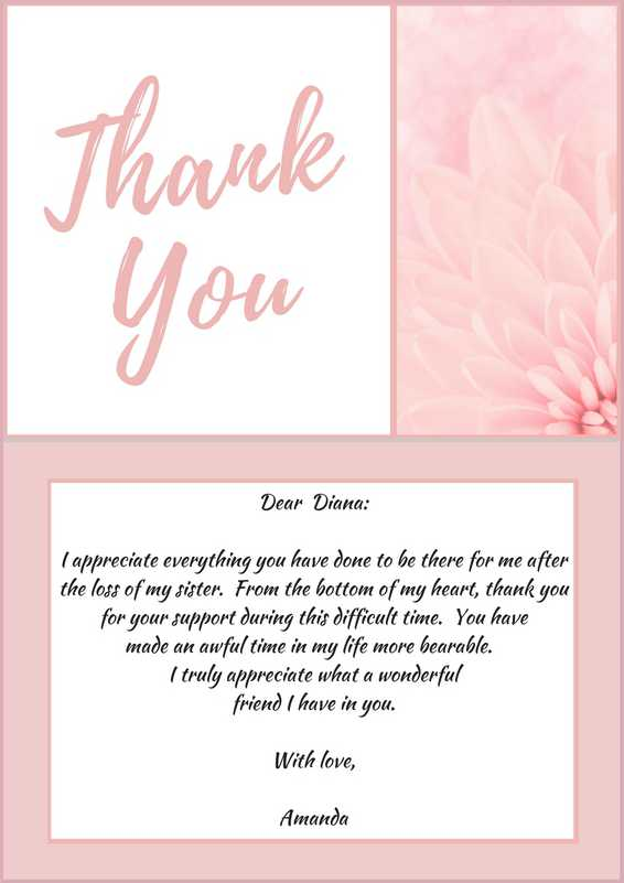 33+ Best Funeral Thank You Cards | Love Lives On