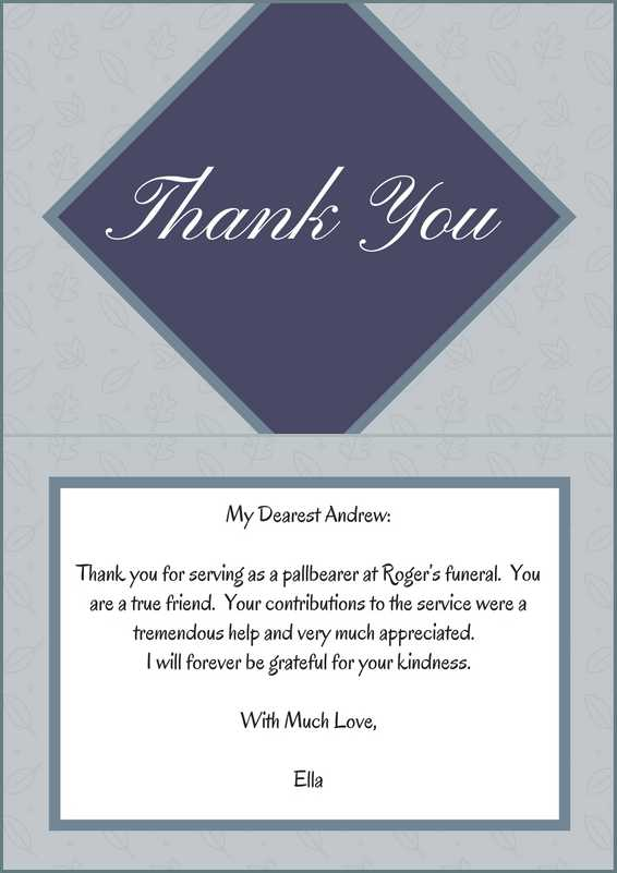 33 best funeral thank you cards love lives on sample thank you note for pallbearers thecheapjerseys Image collections