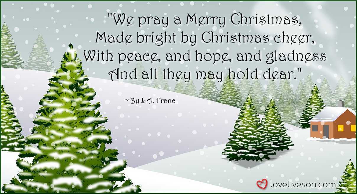 30+ Best Christmas Poems For Kids! | Love Lives On
