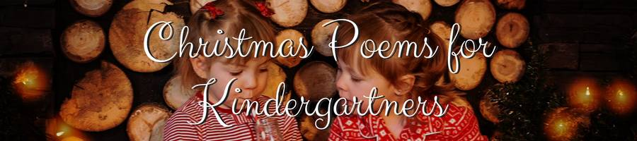 Christmas Poems for Kindergarteners