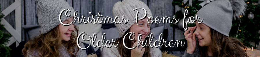 Christmas Poems for Kids Aged 6 to 12