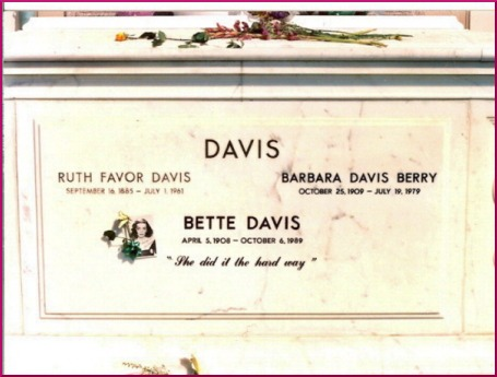 famous epitaphs: Bette Davis
