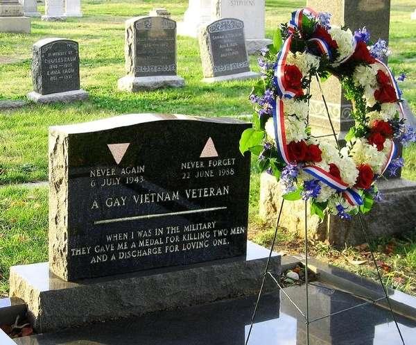 famous epitaphs: Leonard Matlovich