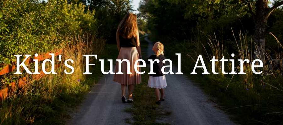 Kid's Funeral Attire