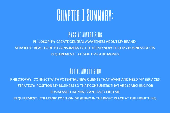 Lawyer Marketing Guide: Chapter 1 Summary