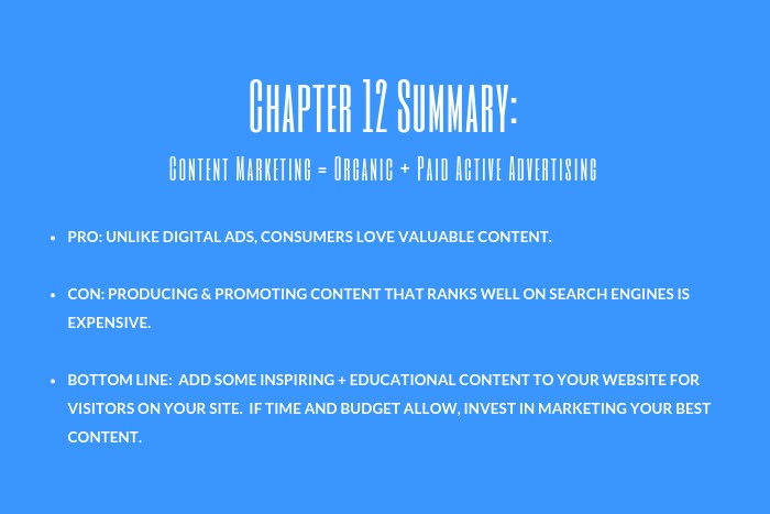 Psychologist Marketing Guide: Chapter 12 Summary