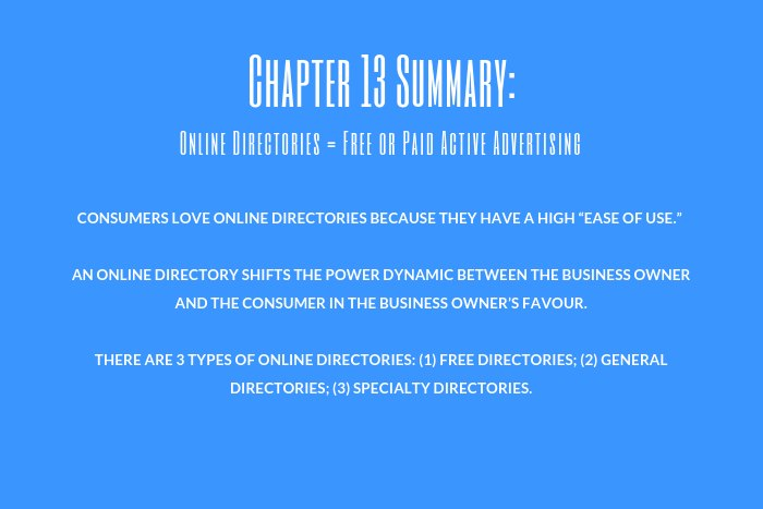 Lawyer Marketing Guide: Chapter 13 Summary