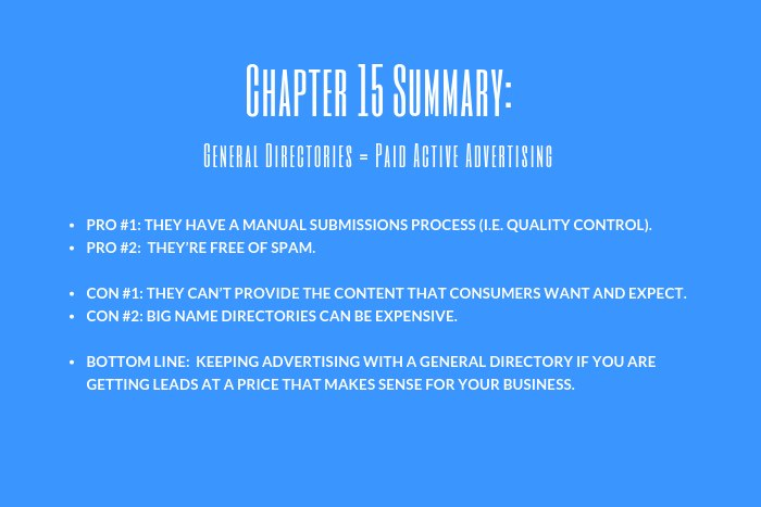 Lawyer Marketing Guide: Chapter 15 Summary