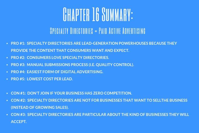 Funeral Home Advertising Guide: Chapter 16 Summary