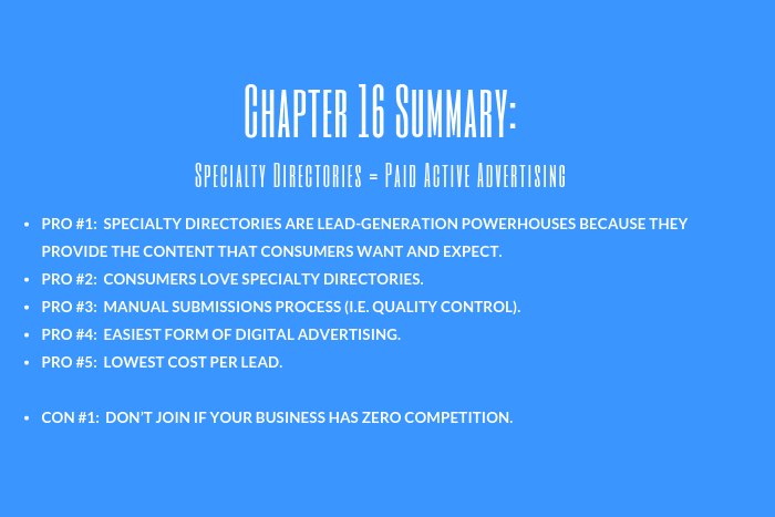 Law Firm Marketing Guide: Chapter 16 Summary