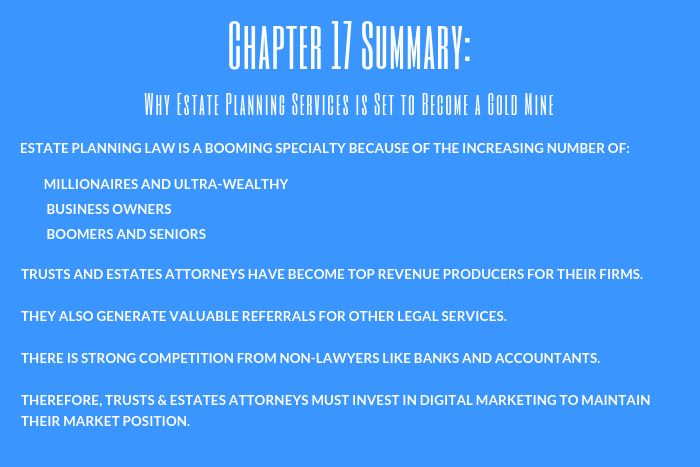 Lawyer Marketing Guide: Chapter 17 Summary