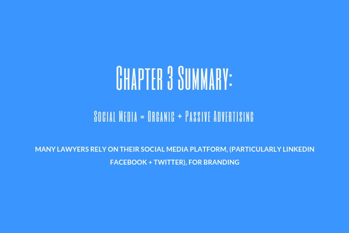Lawyer Marketing Guide: Chapter 3 Summary