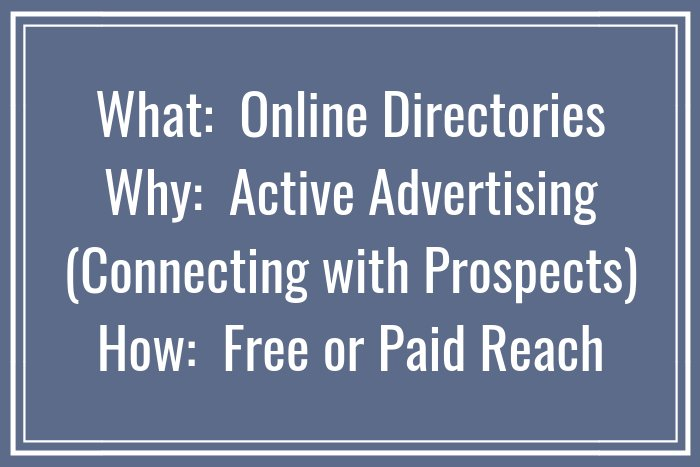 What, Where & Why of Online Directories for Psychologist Advertising