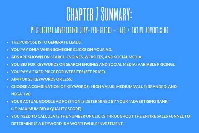 Lawyer Marketing Guide: Chapter 7 Summary