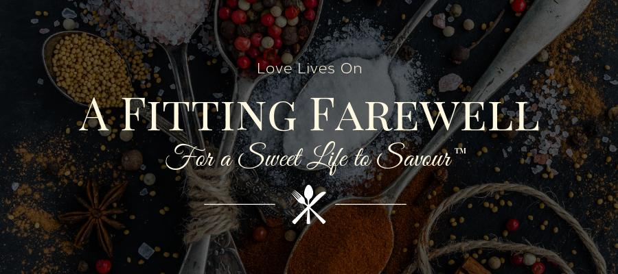 Memorial Service Ideas: A Fitting Farewell - Cooking and Foodie Theme