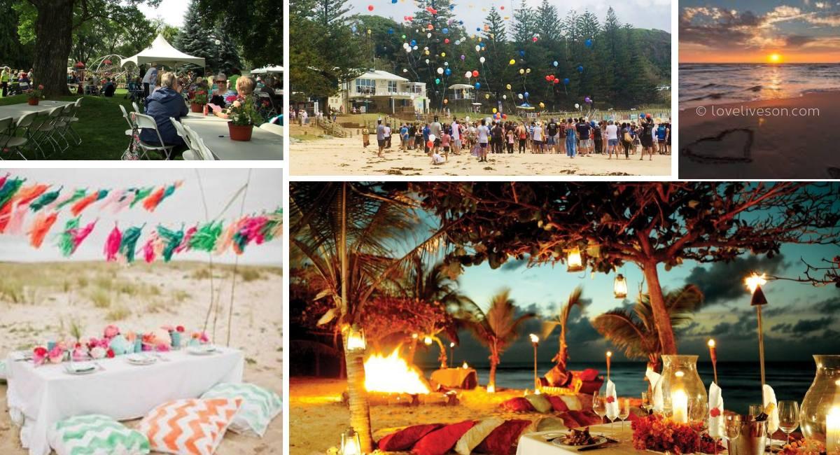 Memorial Service Venues: Beach
