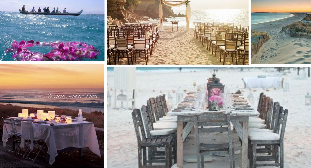 Celebration of Life Venues: Beach