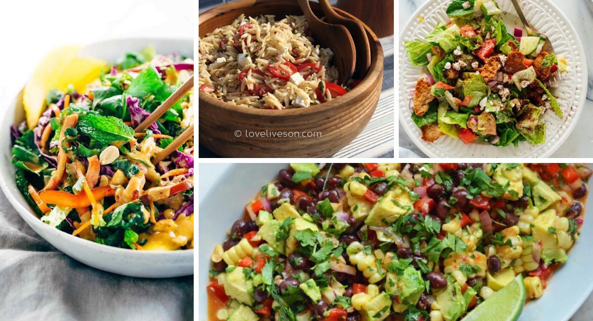 Memorial Service Food: Salads