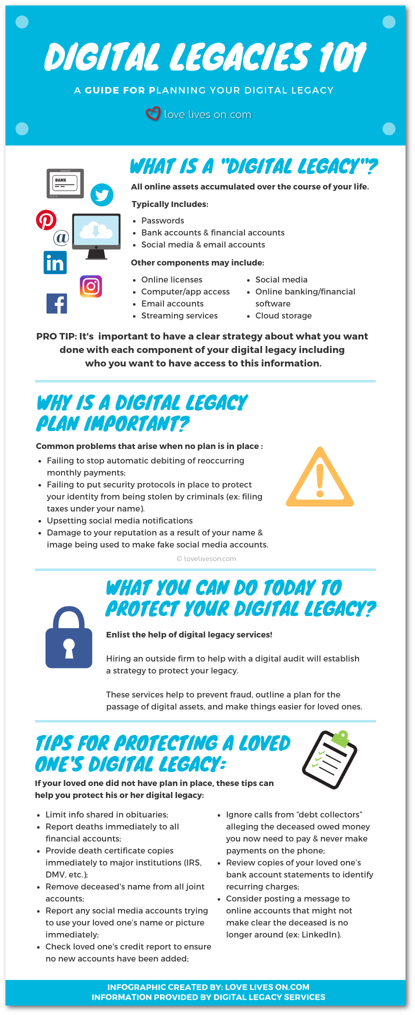 Digital Legacies Infographic