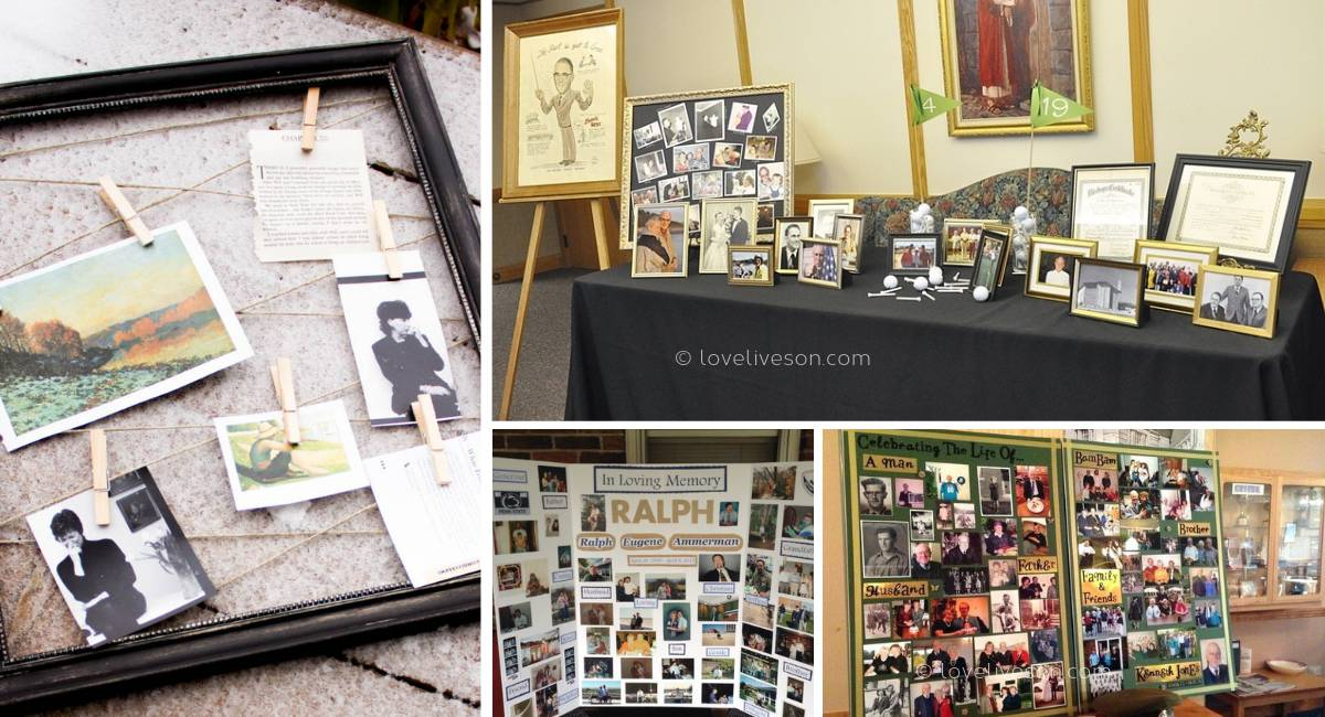 Funeral Memory Boards